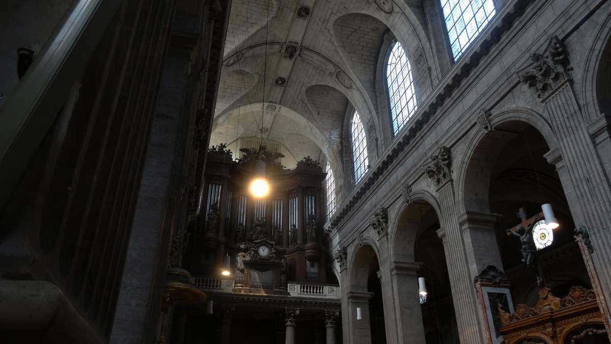 """Eugène DELACROIX - """"La lutte avec l'ange"""" - Eglise Saint-Sulpice - Paris"""
