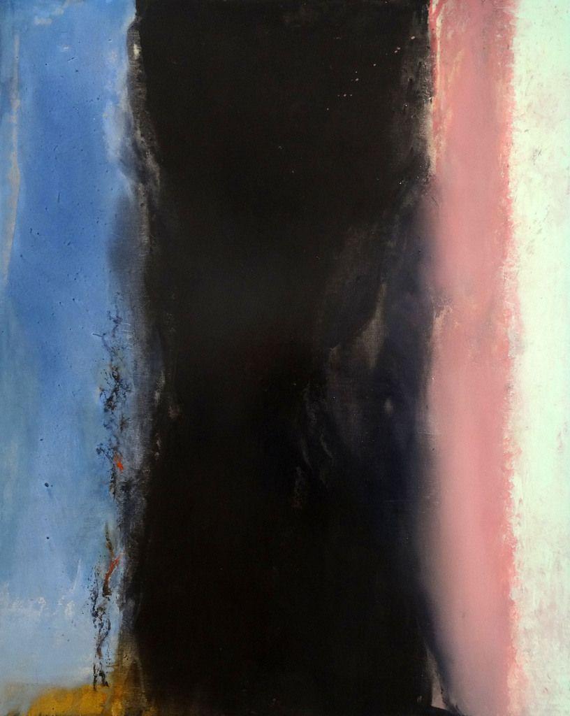 02.02.86- Huile sur toile (Hommage à Henri Matisse)