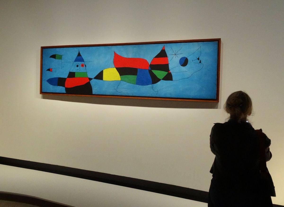 Peinture pour Emilio Fernandez Miro (son petit fils) 1963