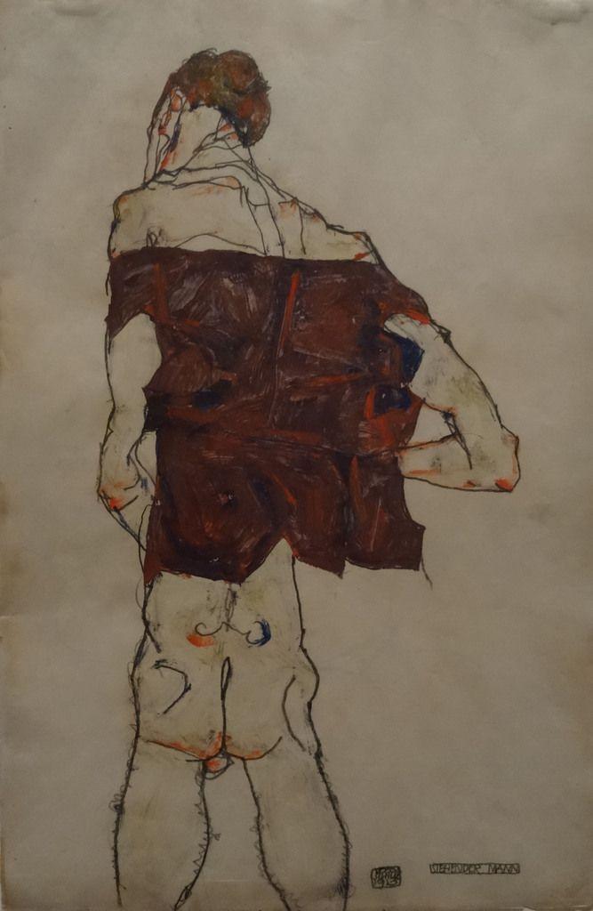 1913 - Homme debout