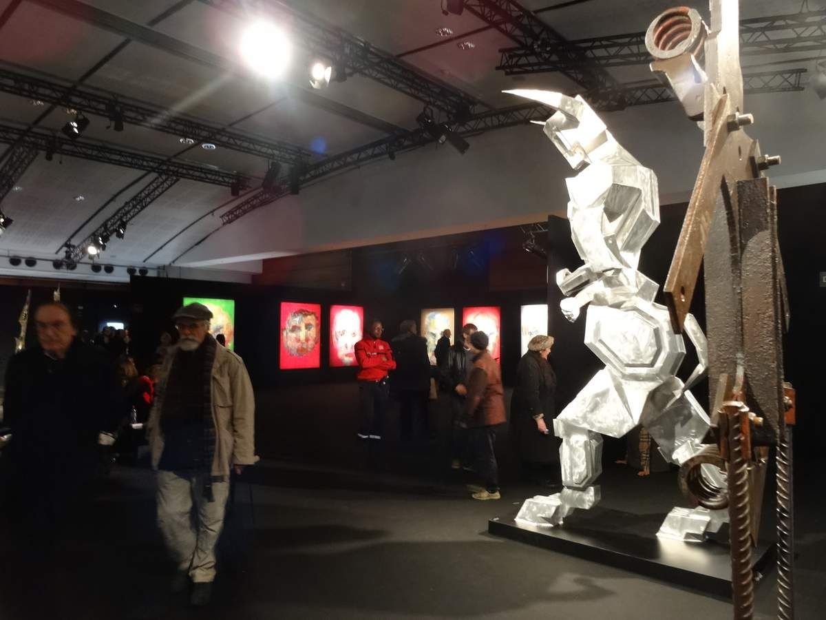 Salon des Beaux Arts 2018 de la SNBA - Carrousel du Louvre PARIS