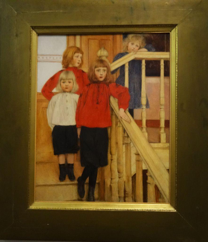 Les enfants de M. Nève - 1893 - huile sur toile