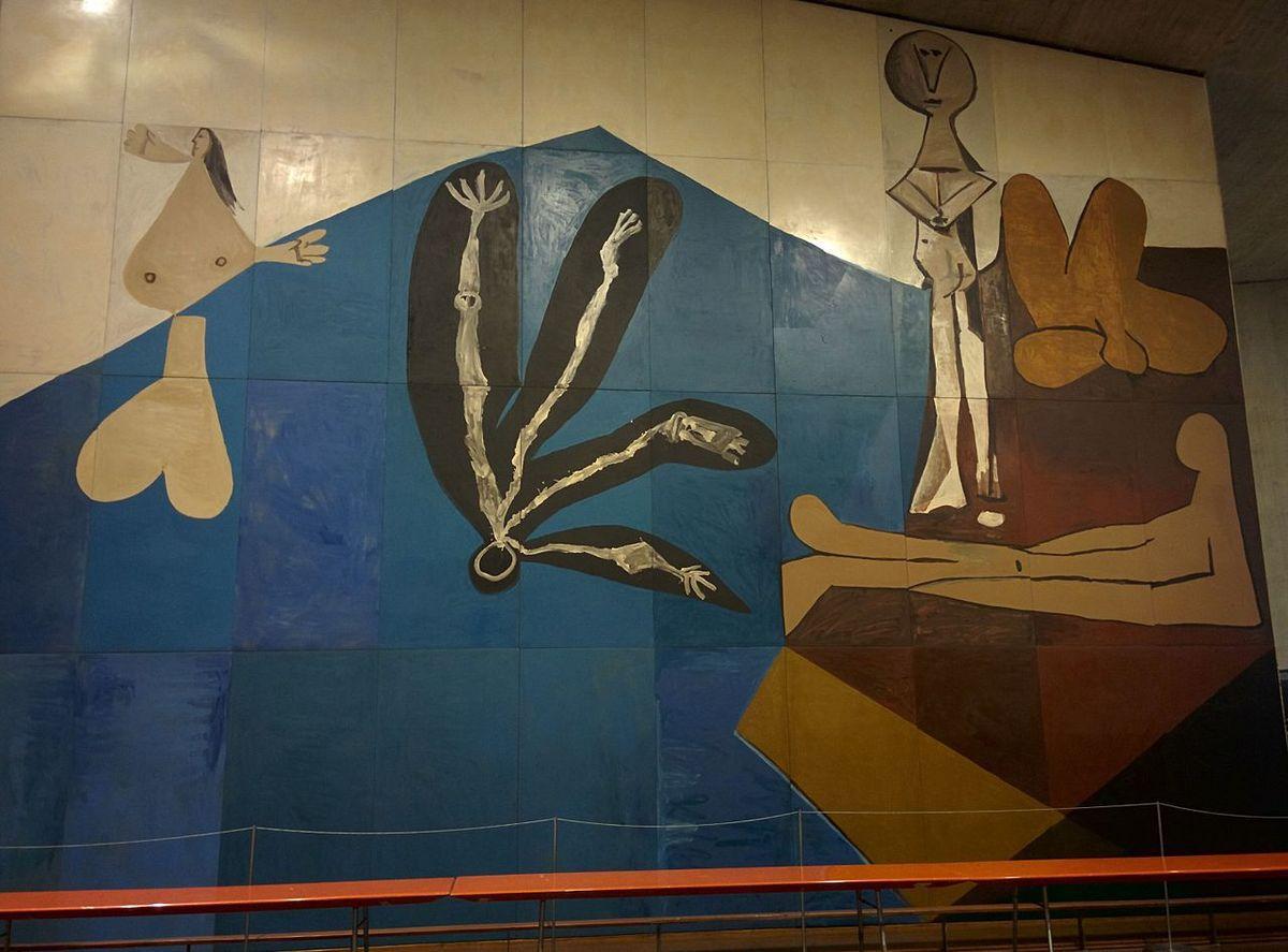 """Picasso """"La chute d'Icare"""" - Calder """"Spirale"""" - photos internet"""