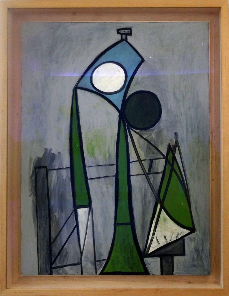 Picasso - Femme - Huile sur contreplaqué - 1946