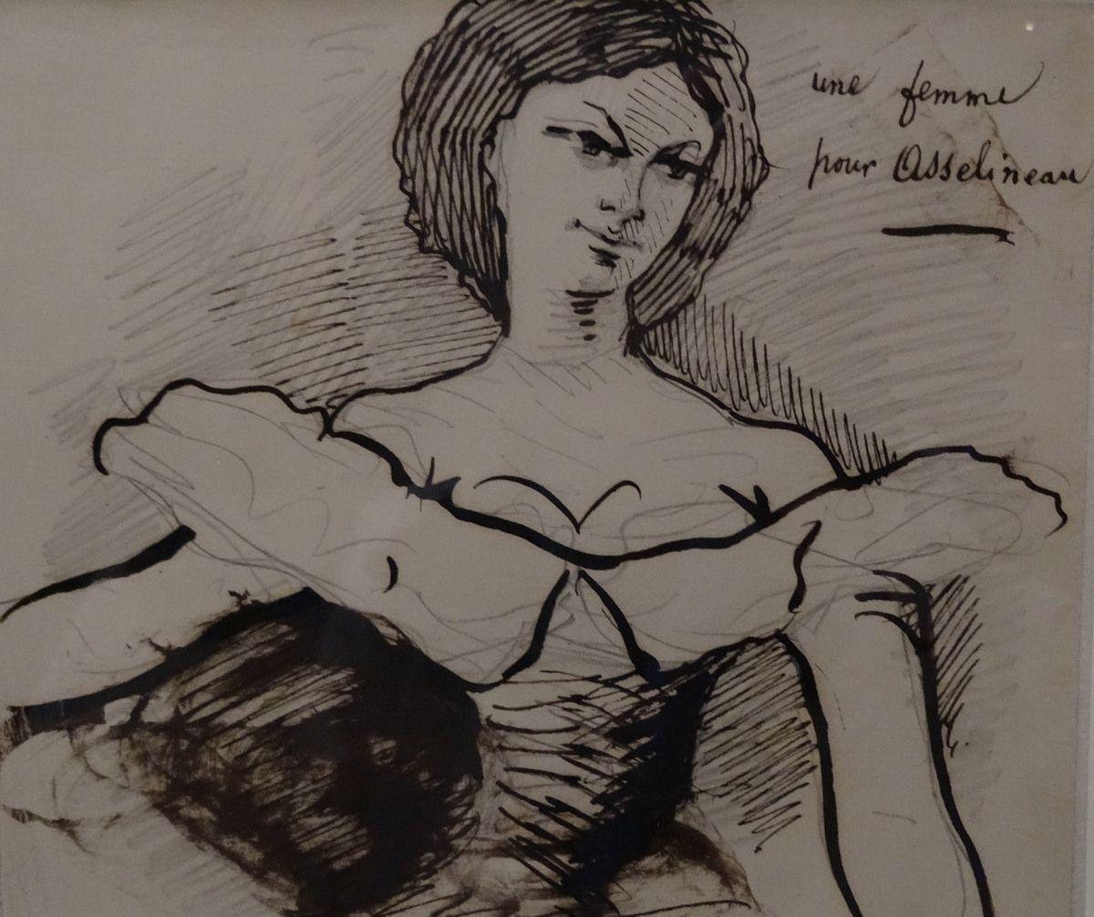 Baudelaire - Femme pour Asselineau et  Portrait de Jeanne - 1865