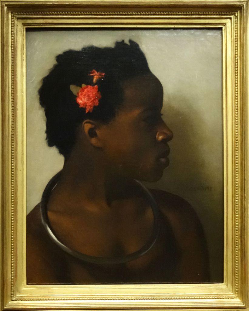 """Jean-Léon Gerome - Etude pour """"A vendre"""" esclaves au Caire - 1872"""
