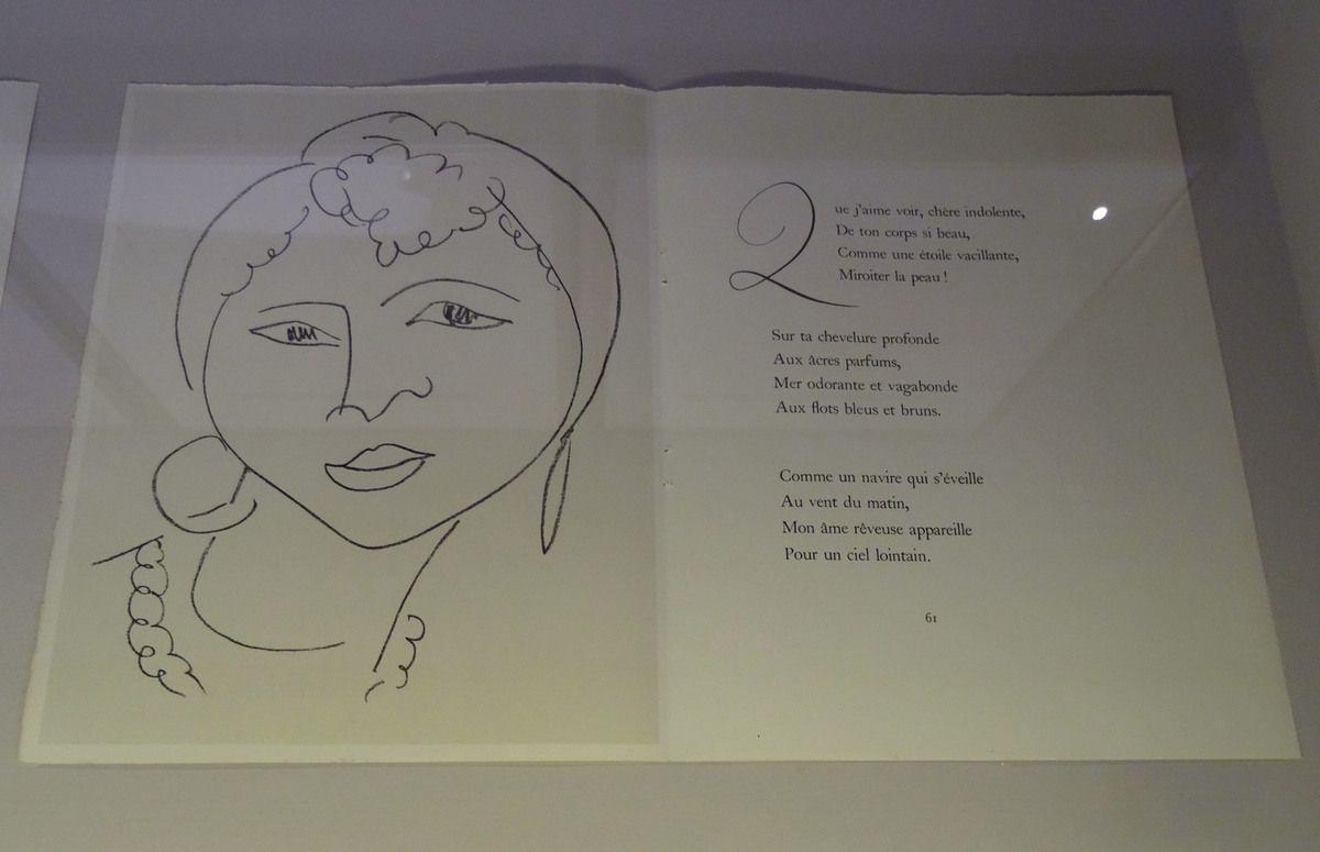 Matisse - Illustration des Fleurs du mal