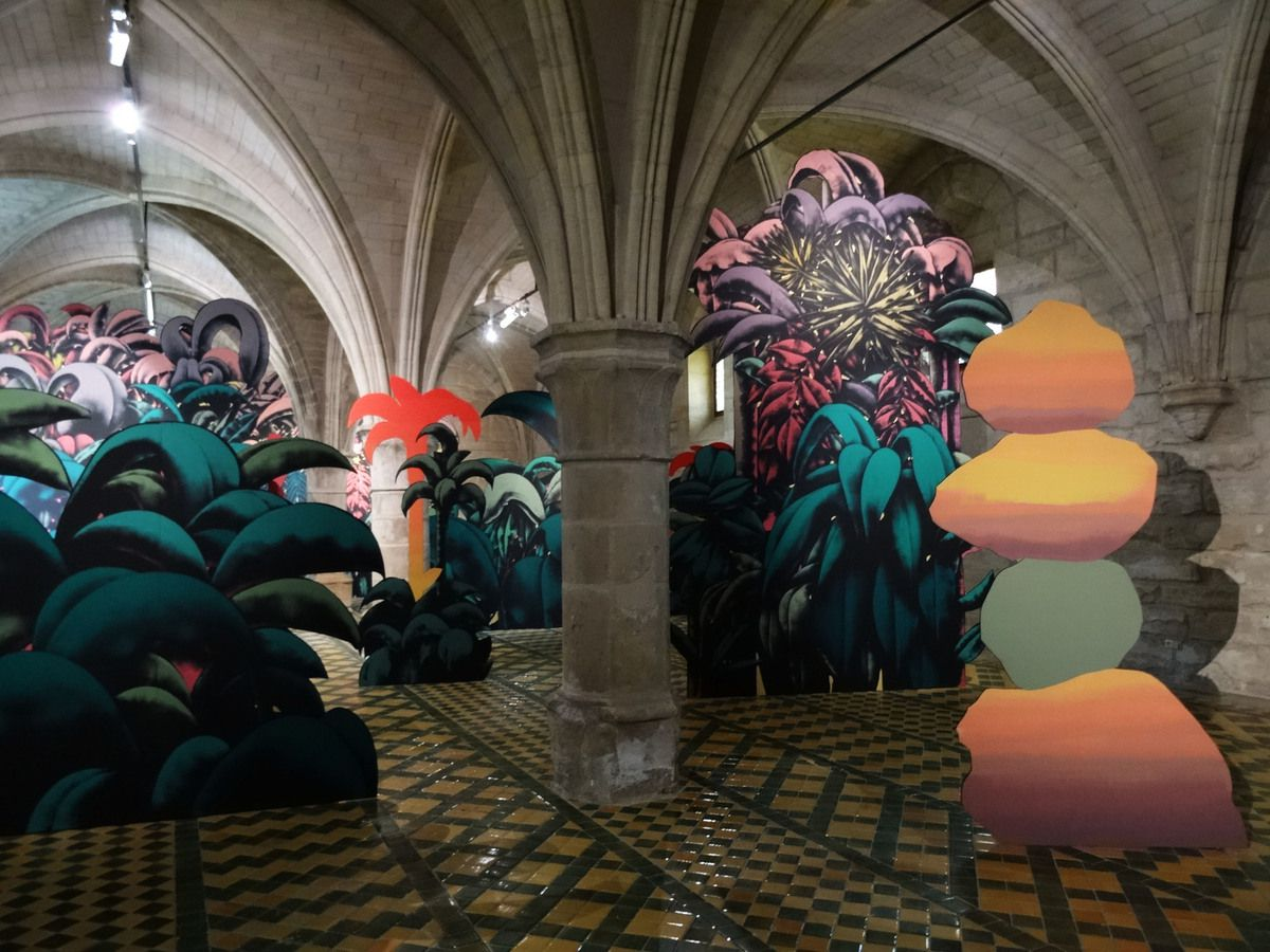 ABBAYE DE MAUBUISSON - JULIEN COLOMBIER - ELECTRIC LADYLAND - Septembre 2019