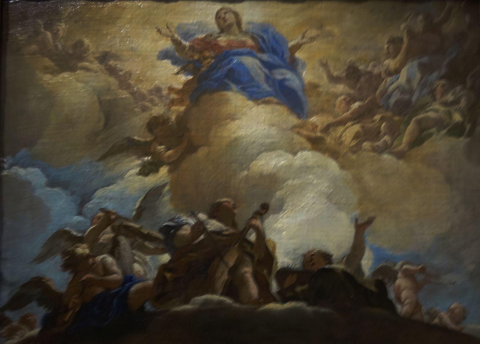 L'assomption de la vierge - 1667