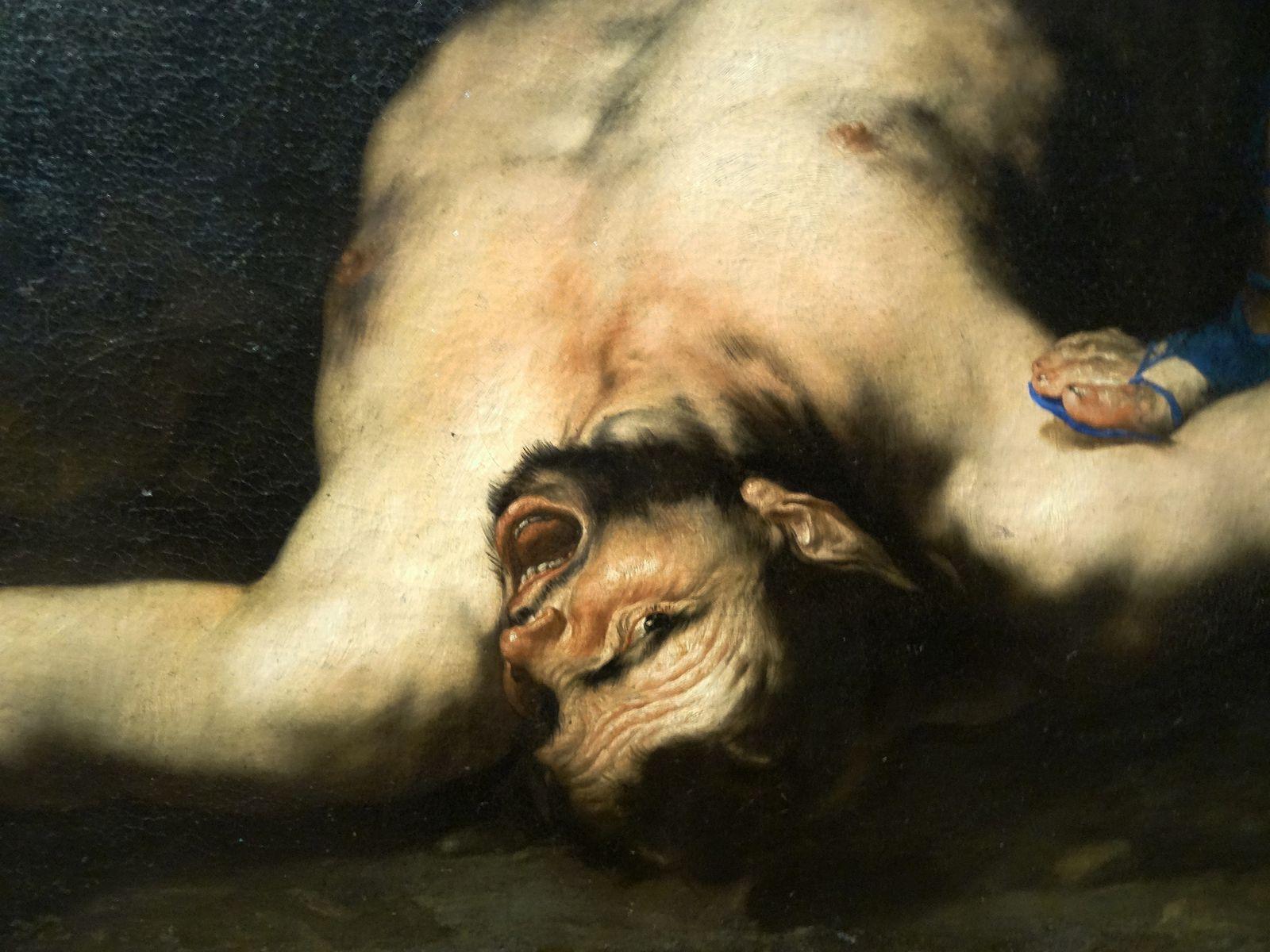 Apollon et Marsyas - 1660 - Détail