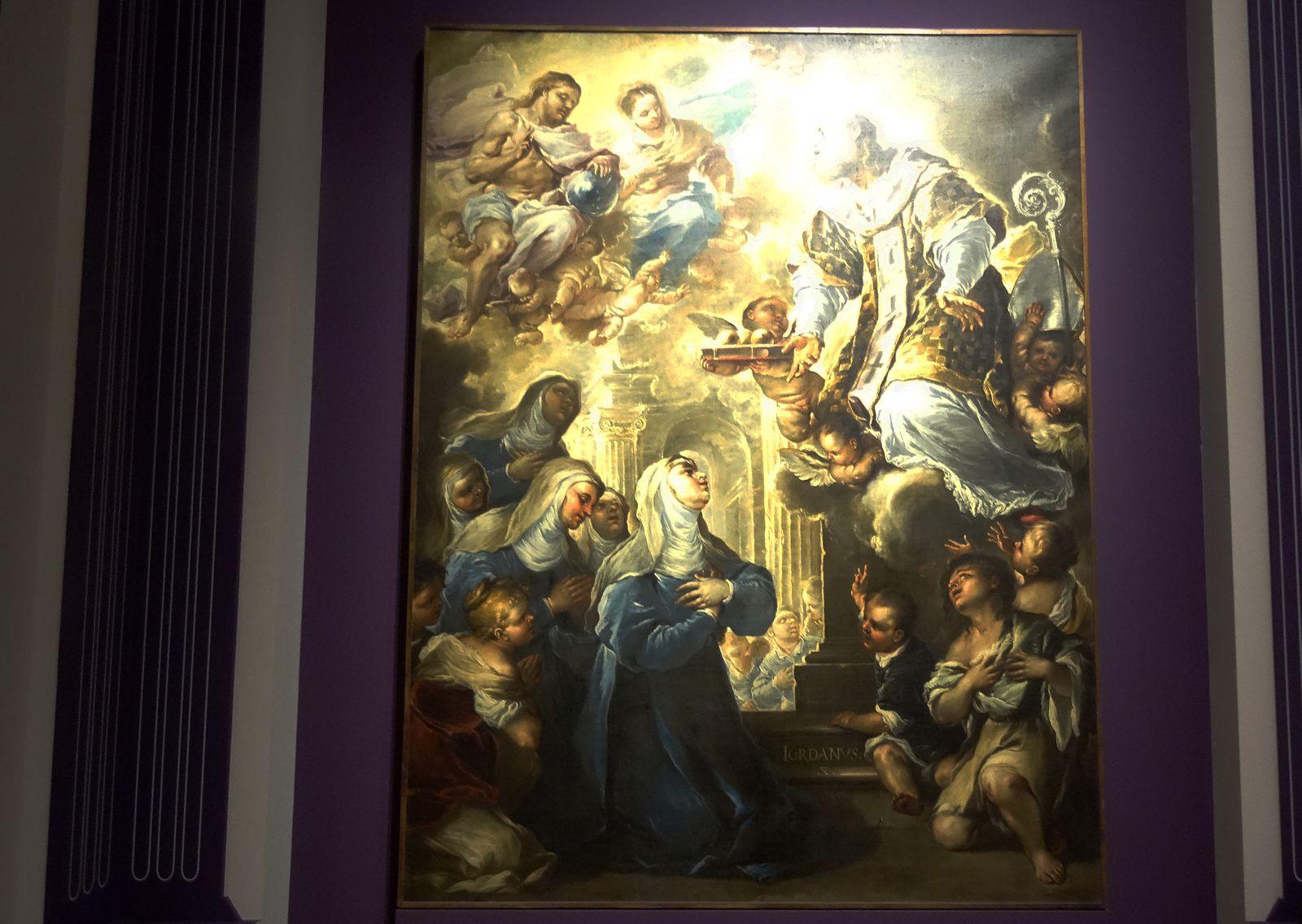 Saint Nicolas en Gloire - 1658