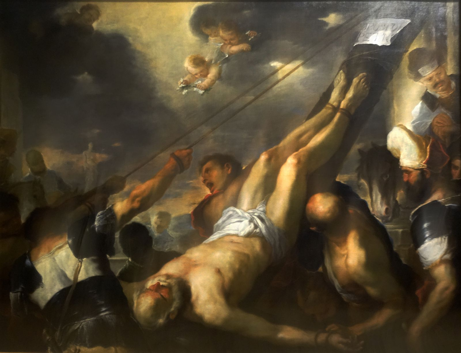 La crucifixion de Saint Pierre - 1692