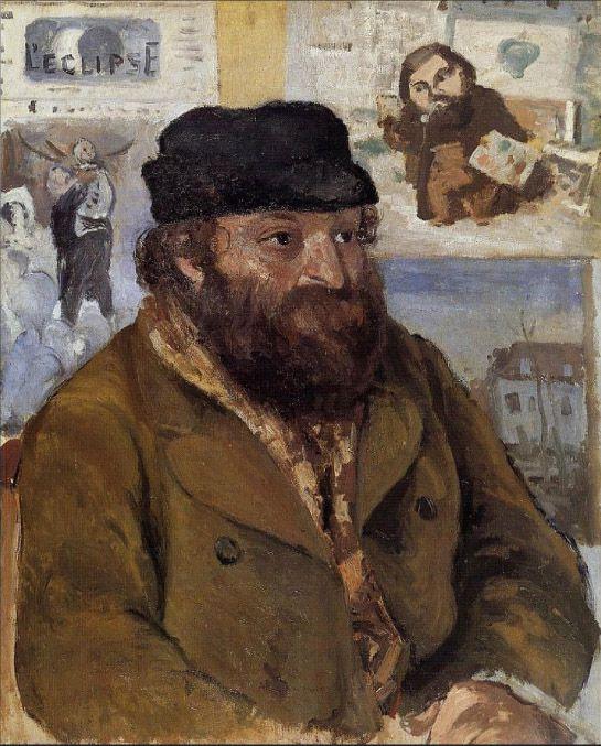 1874 - Portrait de Cézanne