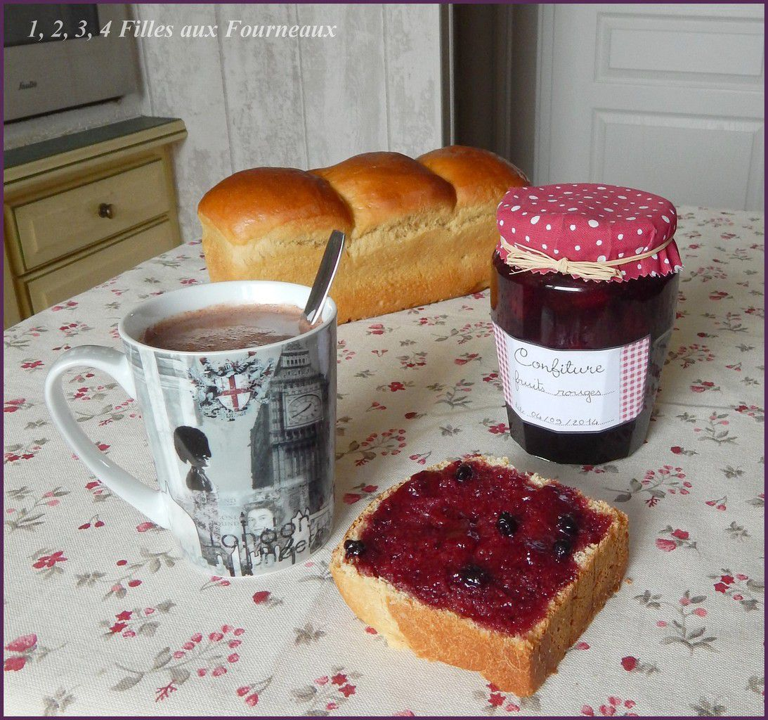 Confiture de fruits rouges  (La meilleure !!!)