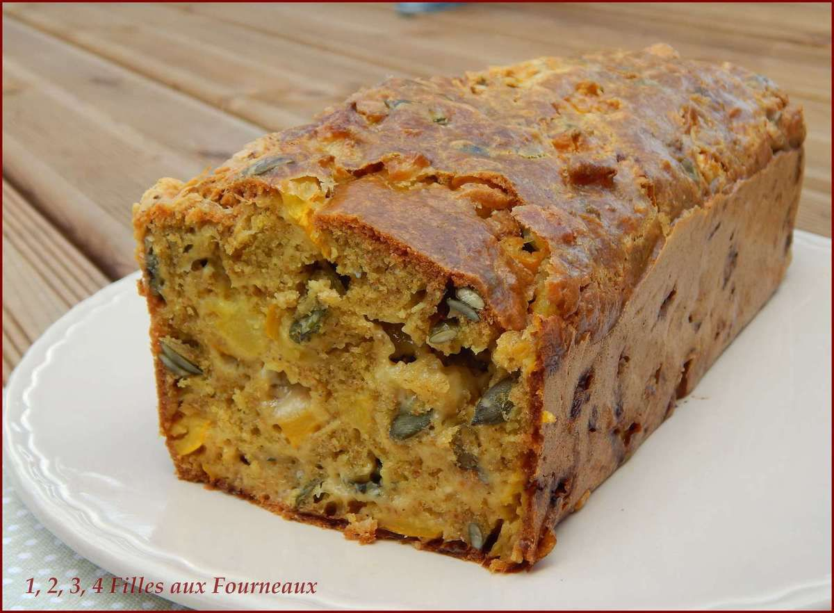 Cake Courgette - Fourme d'Ambert