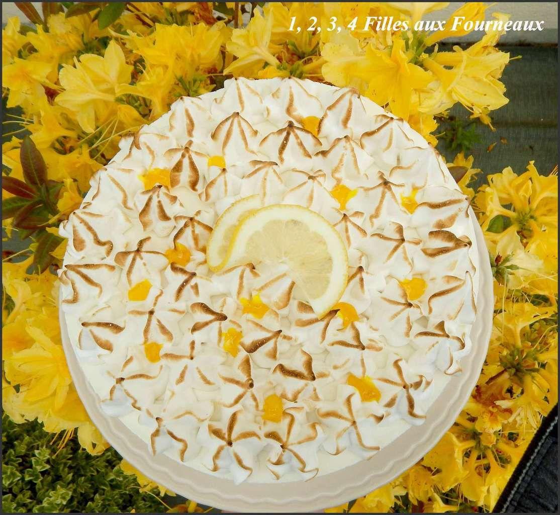 Bavarois au citron meringué  (un délice !!!)