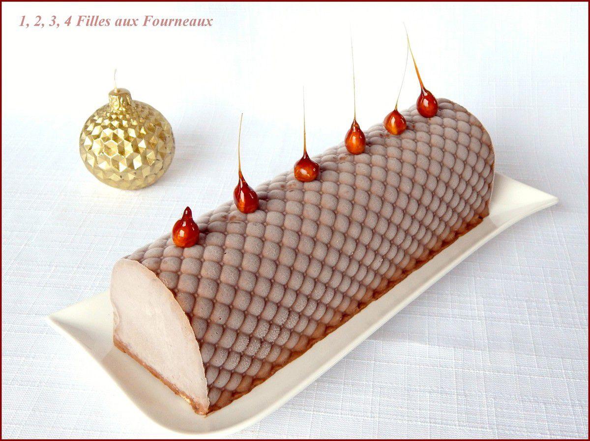 Bûche Chocolat - Praliné