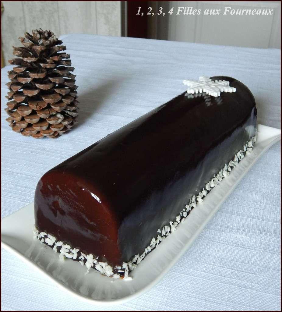 buche de noel chocolat noix de coco, buche chocolat bounty, buche noel bounty, buche chocolat coco