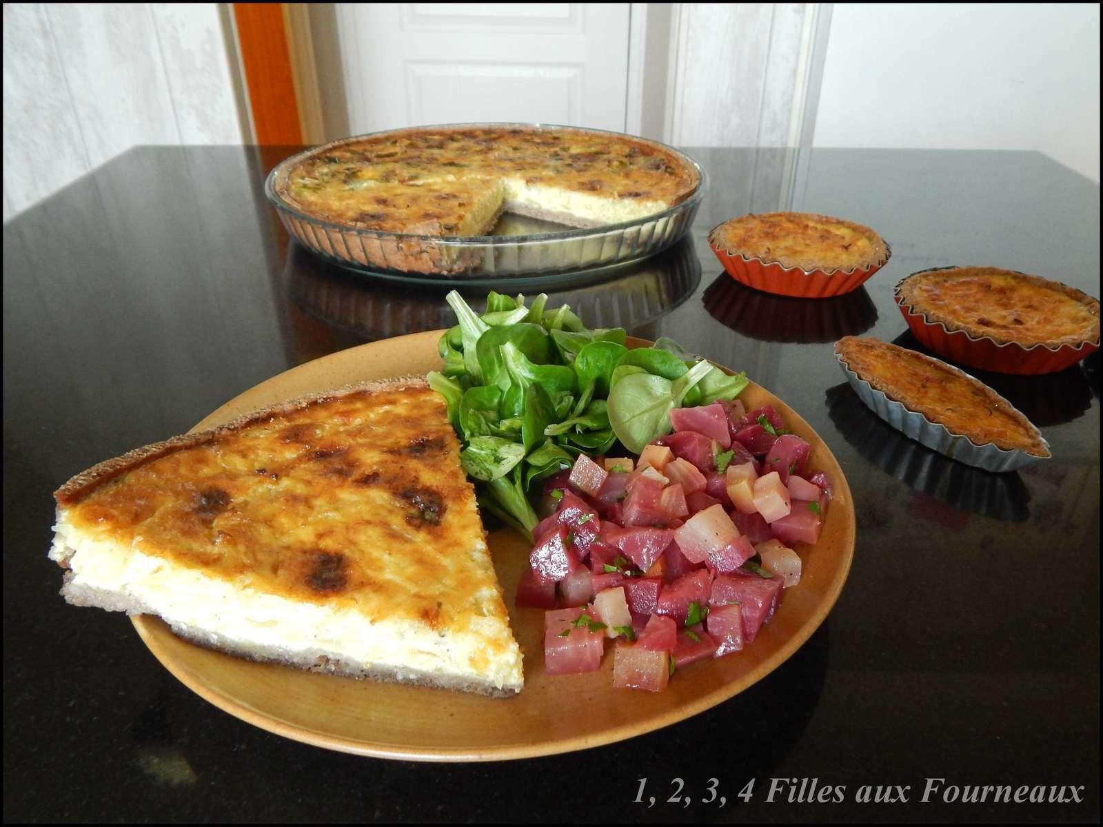 tarte betterave fourme d'ambert, tarte betterave roquefort, tarte betterave bleu, quiche betterave fromage