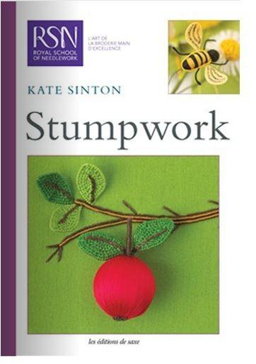 Libros de Bordado blanco y Stumpwork