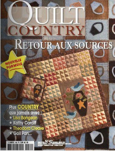 Quilt Country 42: nuevo formato.