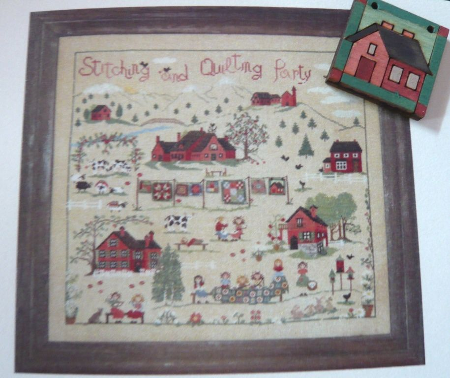 Stitching and Quilting Party. Sara Guermani