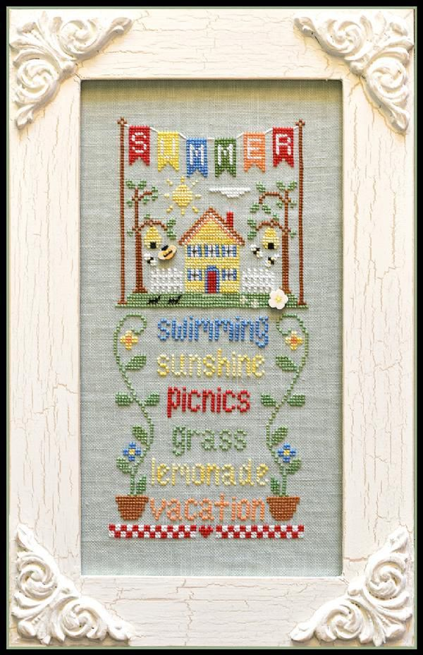 Country Cottage Needleworks y Little house Needleworks