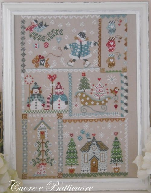 Winter in quilt