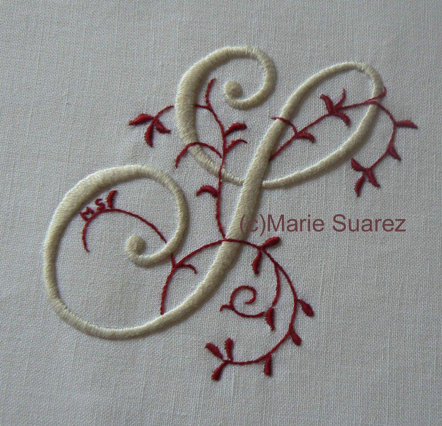 Brodez avec moi de Marie Suarez/1: Materiales