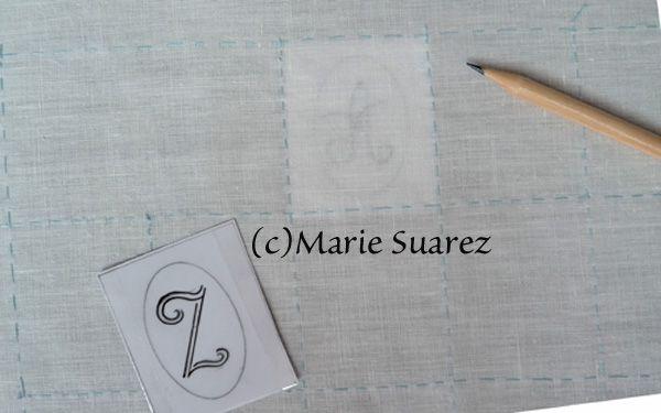Brodez Avec Moi de Marie Suarez/ Etapa 2ª