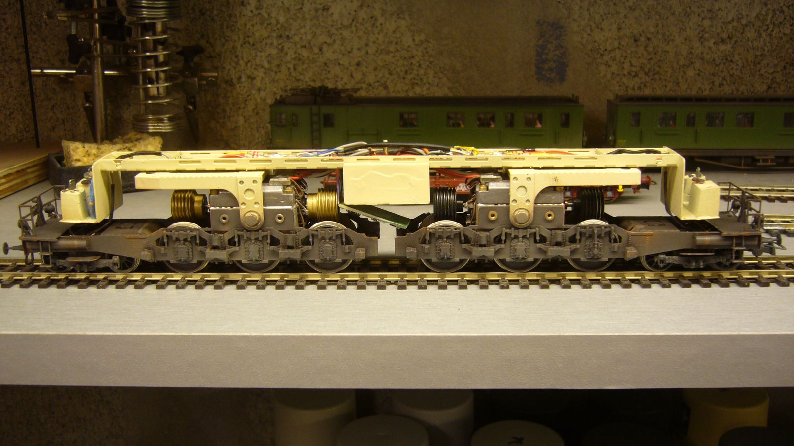 construction d'un kit laiton 2CC2 Loco Set Loisir (suite et fin)