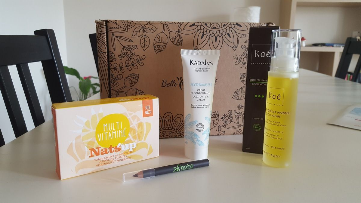 Box belle au naturel avril 2018