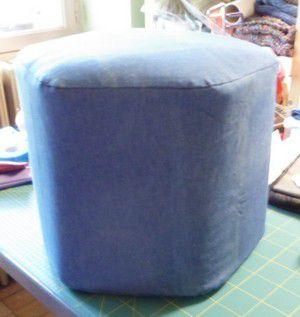 Pouf pouf recyclage