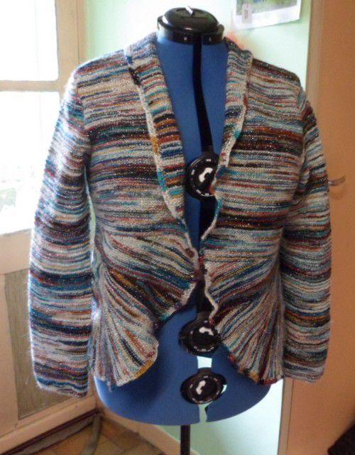 Une nouvelle veste pour moi : fini