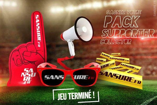 JEU TERMINÉ - Gagnez votre Pack Supporter Collector avec Sansure ! #PackSansure