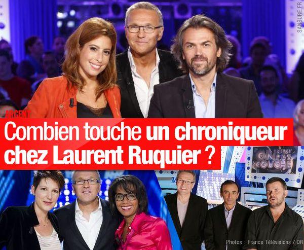 Combien touche un chroniqueur chez Laurent Ruquier ? #ONPC