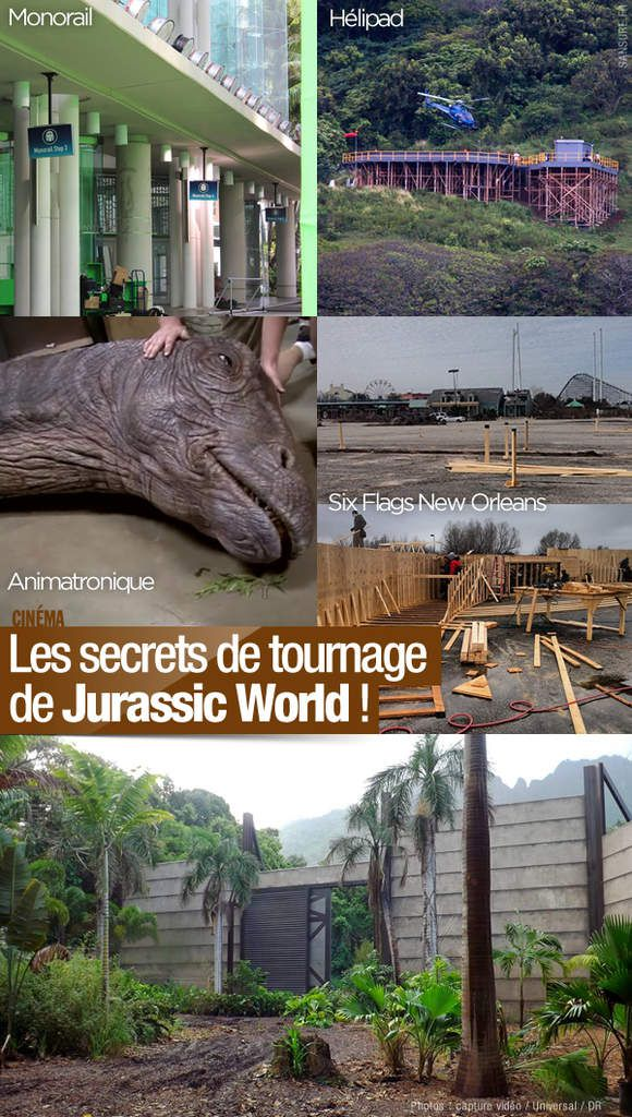 Les secrets de tournage de Jurassic World ! #LeParcEstOuvert