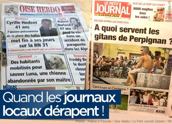 Quand les journaux locaux dérapent ! #choc