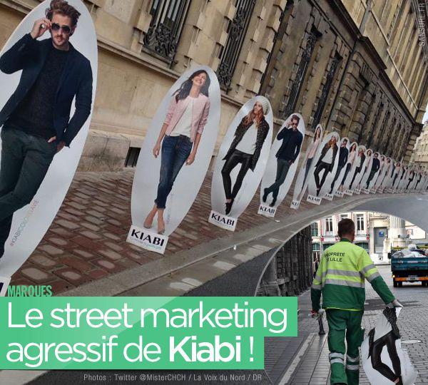Le street marketing agressif de Kiabi ! #BadBuzz