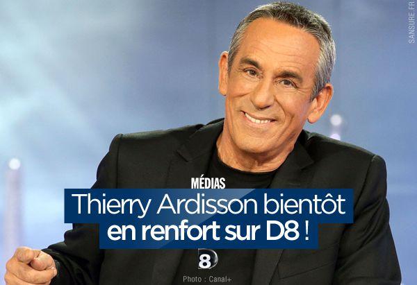 Thierry Ardisson bientôt en renfort sur D8 ! #SLT