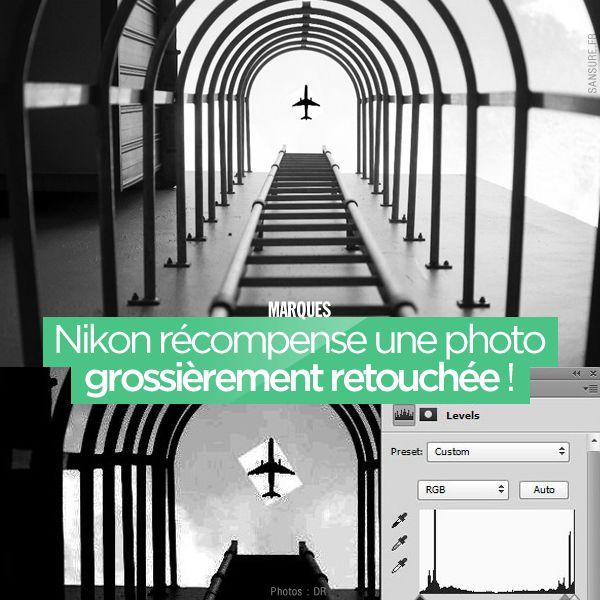Nikon récompense une photo grossièrement retouchée ! #fake