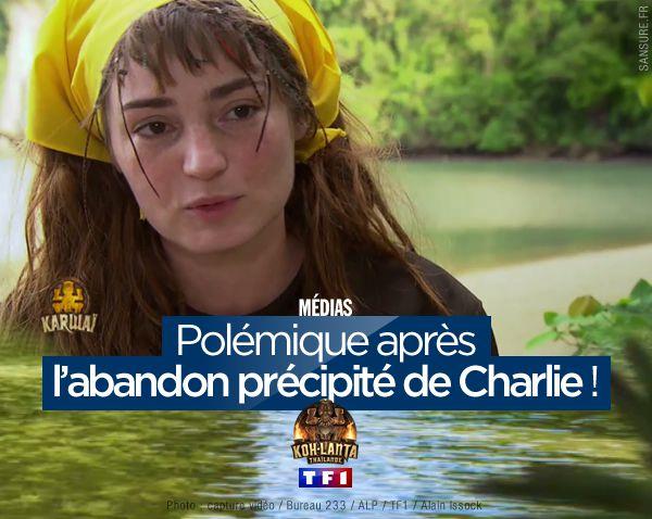 Polémique après l'abandon précipité de Charlie ! #KohLanta