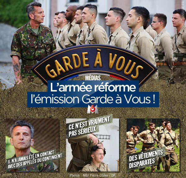 L'armée réforme l'émission Garde à Vous ! #GardeAVous