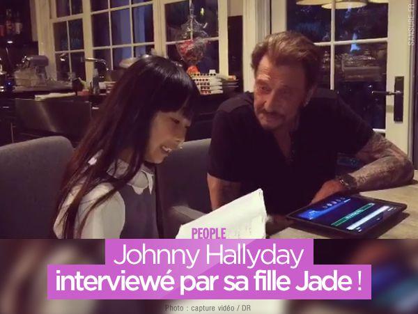 Johnny Hallyday interviewé par sa fille Jade ! #Interview