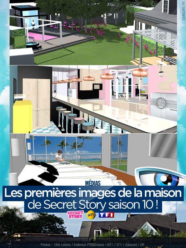 Les premières images de la maison de Secret Story saison 10 ! #SS10