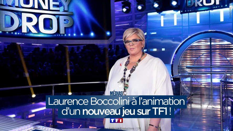 Laurence Boccolini à l'animation d'un nouveau jeu sur TF1 ! #TF1