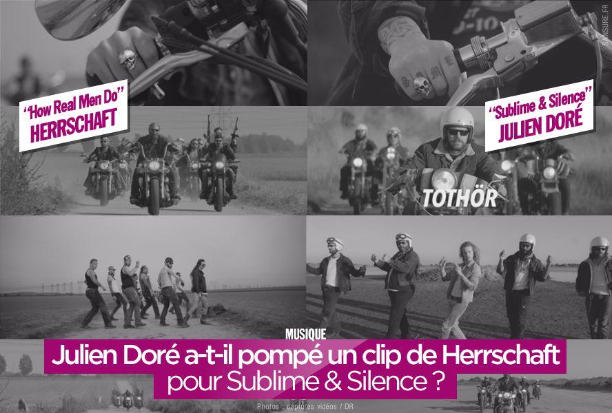 Julien Doré a-t-il pompé un clip de Herrschaft pour Sublime & Silence ? #SublimeEtSilence