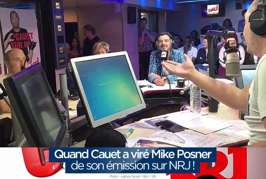 Quand Cauet a viré Mike Posner de son émission sur NRJ ! #clash