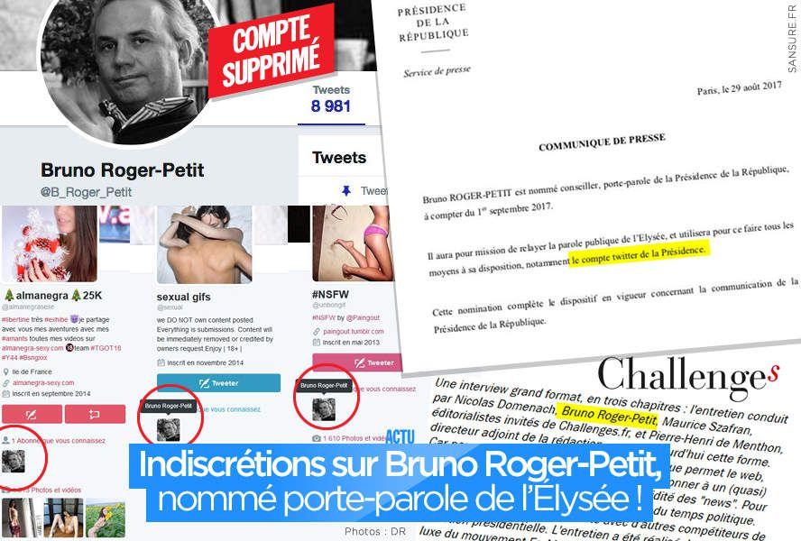 Indiscrétions sur Bruno Roger-Petit, nommé porte-parole de l'Élysée ! #Indiscret