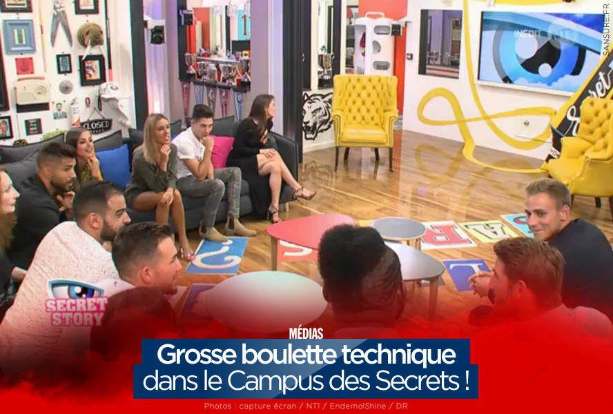 Grosse boulette technique dans le Campus des Secrets ! #SS11